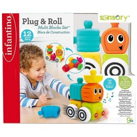 SENSO BLOCS 12 PIECES PLUG & ROLL