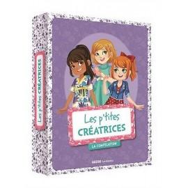 LES P'TITES CREATRICES LA COMPIL 3 ROMANS
