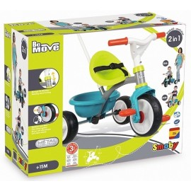 TRICYCLE BE MOVE BLEU EVOLUTIF 2EN1