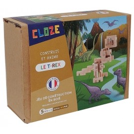 LE TREX KIT CREATIF CONSTRUCTION BOIS 41 PIECES