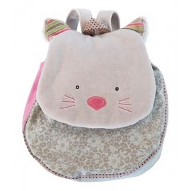 SAC A DOS CHAT GRIS LES PACHATS