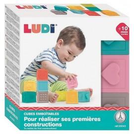 CUBES EMBOITABLES SOUPLES X9-LiloJouets-Magasins jeux et jouets dans Morbihan en Bretagne