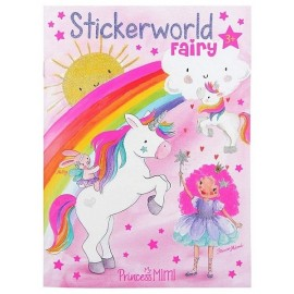 CARNET DE STICKERS PRINCESS MIMI STICKERWORLD