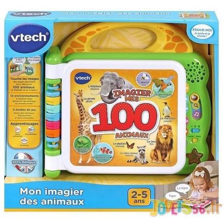 MON IMAGIER DES ANIMAUX BILINGUE ELECTRONIQUE-LiloJouets-Magasins jeux et jouets dans Morbihan en Bretagne