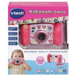 KIDIZOOM SMILE ROSE APPAREIL PHOTO-LiloJouets-Magasins jeux et jouets dans Morbihan en Bretagne