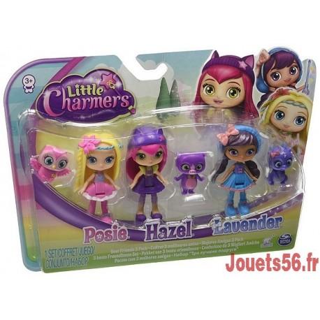 LES MINIS SORCIERES PACK DE 3 FIGURINES 8CM-jouets-sajou-56