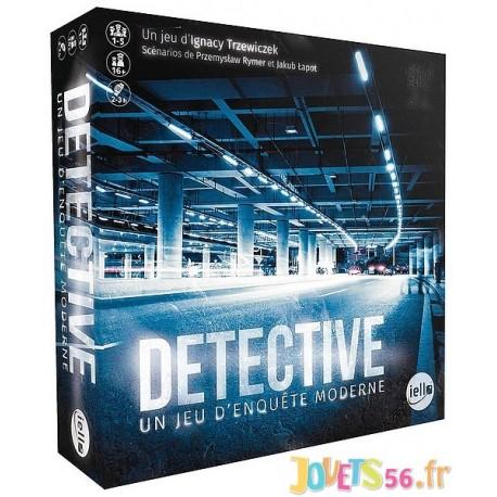 JEU DETECTIVE - UN JEU D'ENQUETE MODERNE-LiloJouets-Magasins jeux et jouets dans Morbihan en Bretagne