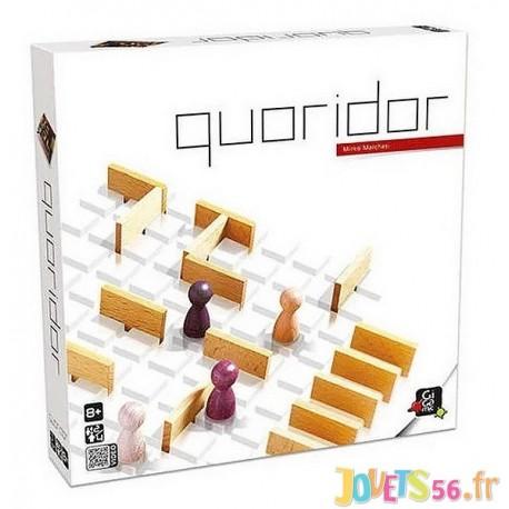 JEU QUORIDOR PLATEAU BOIS-LiloJouets-Magasins jeux et jouets dans Morbihan en Bretagne