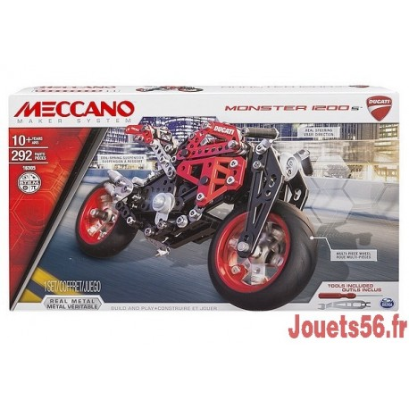 DUCATI MONSTER 1200S MECCANO-jouets-sajou-56