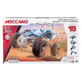 BUGGY TOUT TERRAIN 15 MODELES MECCANO-jouets-sajou-56