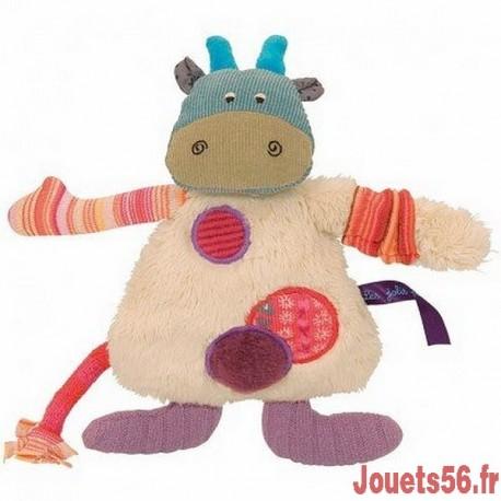 LA PETITE VACHE LES JOLIS PAS BEAUX-jouets-sajou-56