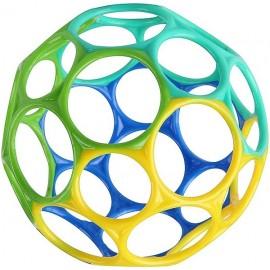 BALLE OBALL CLASSIQUE 10CM BLEU VERT-LiloJouets-Magasins jeux et jouets dans Morbihan en Bretagne