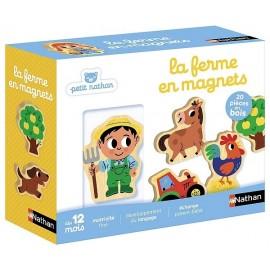 LA FERME EN MAGNETS 20 PIECES BOIS-LiloJouets-Magasins jeux et jouets dans Morbihan en Bretagne