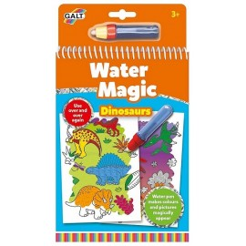 CARNET WATER MAGIC DINOSAURES