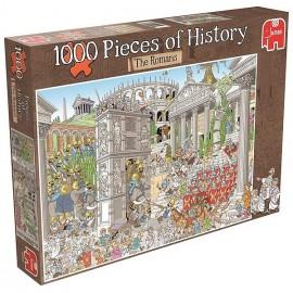 PUZZLE DESSIN HISTOIRE ROMAINE 1000 PIECES-LiloJouets-Magasins jeux et jouets dans Morbihan en Bretagne