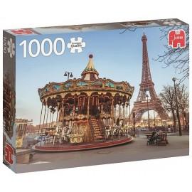 PUZZLE PARIS TROCADERO TOUR EIFFEL 1000 PIECES-LiloJouets-Magasins jeux et jouets dans Morbihan en Bretagne