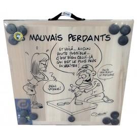 JEU DE PALETS CARTOON LES MAUVAIS PERDANTS