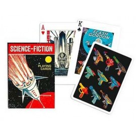 JEU 54 CARTES SCIENCE FICTION VINTAGE