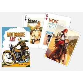 JEU 54 CARTES MOTORBIKE ART