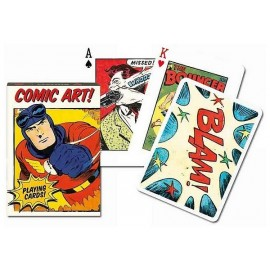 JEU 54 CARTES COMIC ART