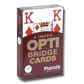 JEU 54 CARTES OPTI BRIDGE GRANDS CARACTERES