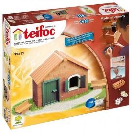 BOITE MAISON EN BRIQUES A CONSTRUIRE 110 PIECES TEIFOC