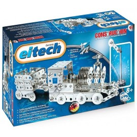 KIT TRAIN METAL 180 PIECES CONSTRUCTIONS METALLIQUES