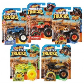 VEHICULE HOT WHEELS MONSTER TRUCKS ASST