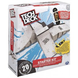 STARTER KIT TECH DECK FINGER SKATE RAMPES ET PISTES