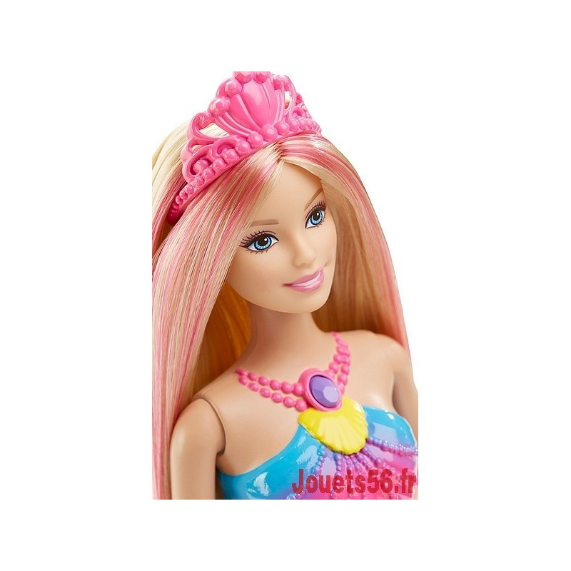 Barbie sirene couleur et lumiere - Barbie sirene couleur ...