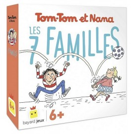 JEU DES 7 FAMILLES TOM-TOM ET NANA