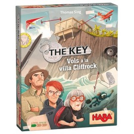 JEU THE KEY VOLS A LA VILLA CLIFFROCK
