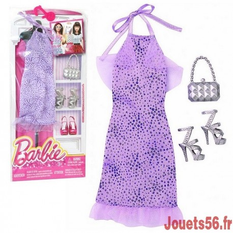 ROBES DE SOIREE BARBIE ASST-jouets-sajou-56