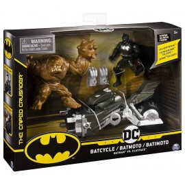 PACK BATMAN MOTO ET 2 FIGURINES DC COMICS