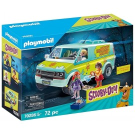 70286 MYSTERY MACHINE VEHICULE SCOOBYDOO PLAYMOBIL