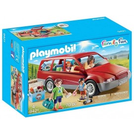 9421 FAMILLE AVEC VOITURE PLAYMOBIL FAMILY FUN