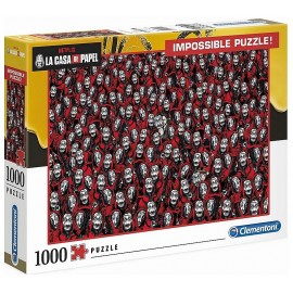PUZZLE LA CASA DE PAPEL 1000 PIECES IMPOSSIBLE PUZZLE