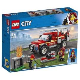 60231 CAMION DU CHEF DES POMPIERS LEGO CITY