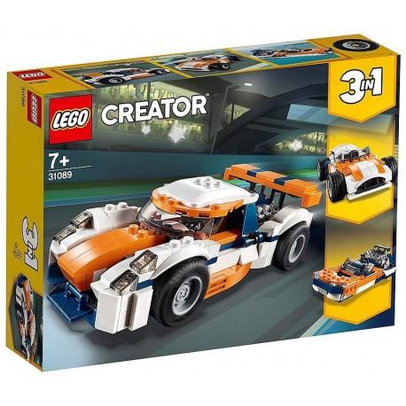 31089 LA VOITURE DE COURSE LEGO CREATOR-LiloJouets-Morbihan-Bretagne
