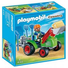 4143 AGRICULTEUR AVEC TRACTEUR PLAYMOBIL COUNTRY