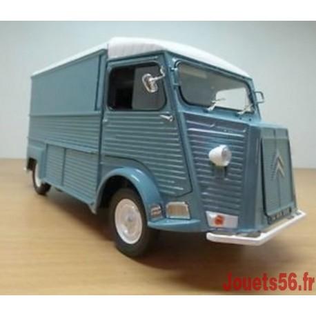 CITROEN TYPE H 1969 BLEU CLAIR 1/18E-jouets-sajou-56