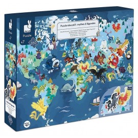 PUZZLE EDUCATIF MYTHES ET LEGENDES 350 PIECES