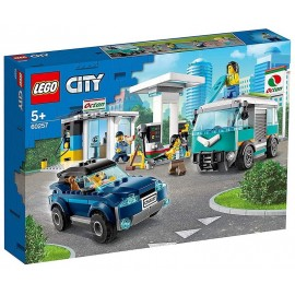 60257 LA STATION SERVICE LEGO CITY-LiloJouets-Morbihan-Bretagne