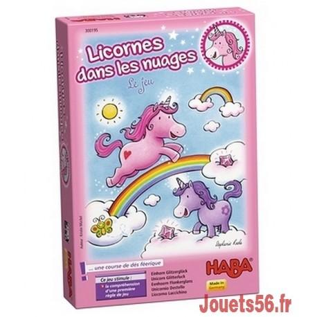 LICORNES DANS LES NUAGES JEU DE CARTES-jouets-sajou-56