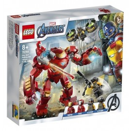 76164 IRON MAN HULKBUSTER CONTRE AGENT AIM LEGO AVENGERS