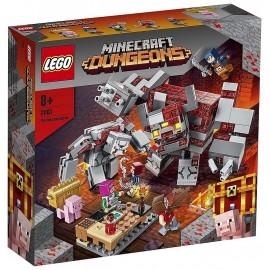 21163 LA BATAILLE DE LA PIERRE ROUGE LEGO MINECRAFT