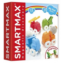 SMARTMAX MY FIRST VEHICULES 13PCES MAGNETIQUES-LiloJouets-Morbihan-Bretagne