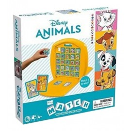 JEU TOP TRUMPS MATCH DISNEY ANIMAUX