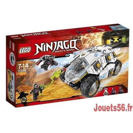 70588 TUMBLER NINJA TITANE NINJAGO-jouets-sajou-56