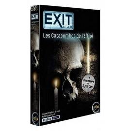 JEU EXIT LES CATACOMBES DE L'EFFROI ESCAPE GAME NIVEAU EXPERT